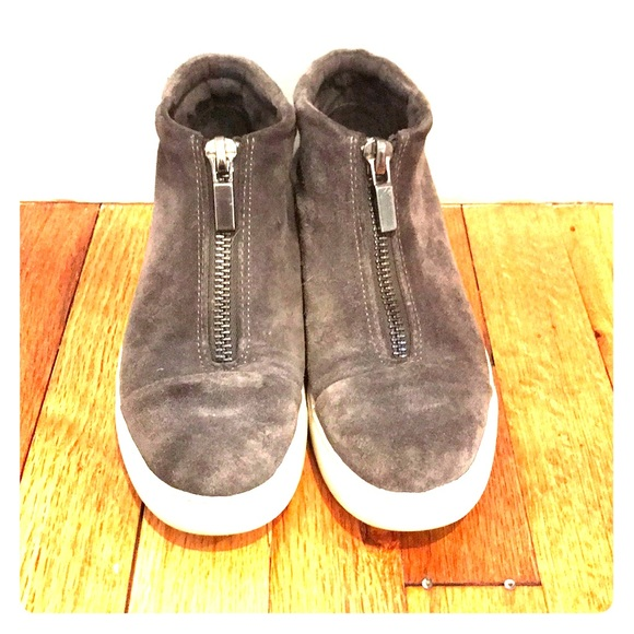 Kenneth Cole Shoes - Gray high top sneakers